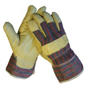 Werkhandschoen rundersplitleer