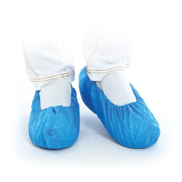 Wegwerp overschoentjes blauw 100st