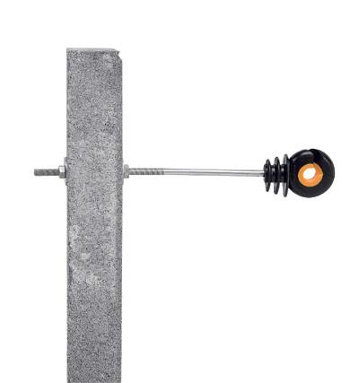 Gallagher afstandschroef-isolator XDI metaal - 10st