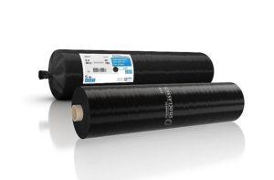 Wandfolie zwart 0,12mm - 50x4mtr
