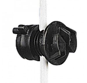 Gallagher schroefisolator zwart ø 4-10mm - 20st