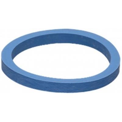 Afsluitring blauw dik- 4mm kalverventiel