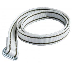 Halsband nylon met knelgesp 130cm