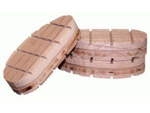 Klauwblokje hout