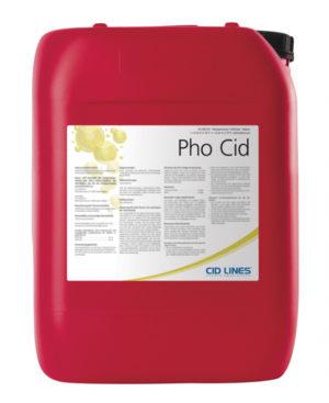 Pho Cid melkstalreinigingszuur 25kg