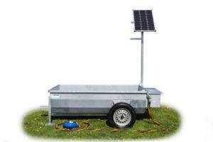 Mobiele weidedrinkbak Poortman Solar Type 110 | 1000ltr