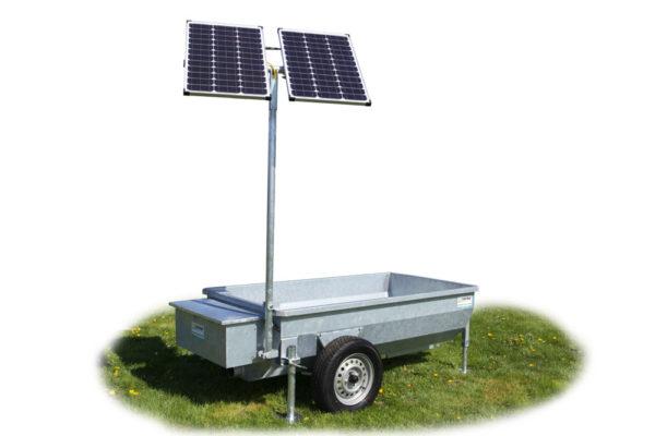 Mobiele weidedrinkbak Poortman Solar Type 120   1000ltr