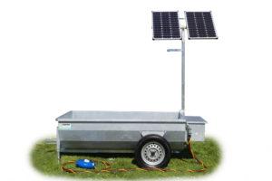 Mobiele weidedrinkbak Poortman Solar Type 120 | 1000ltr