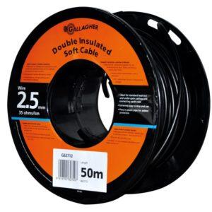 Gallagher grondkabel 2,5mm 50mtr