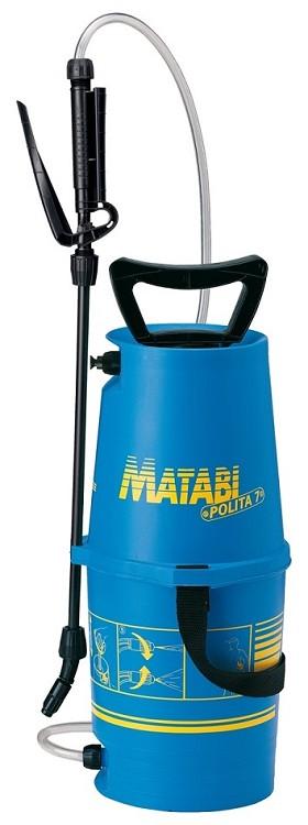 Matabi Polita 7 drukspuit 5ltr met verbeterde knijpkraan