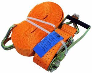 Spanband Sjorband oranje 2-delig | 50mm | 8mtr