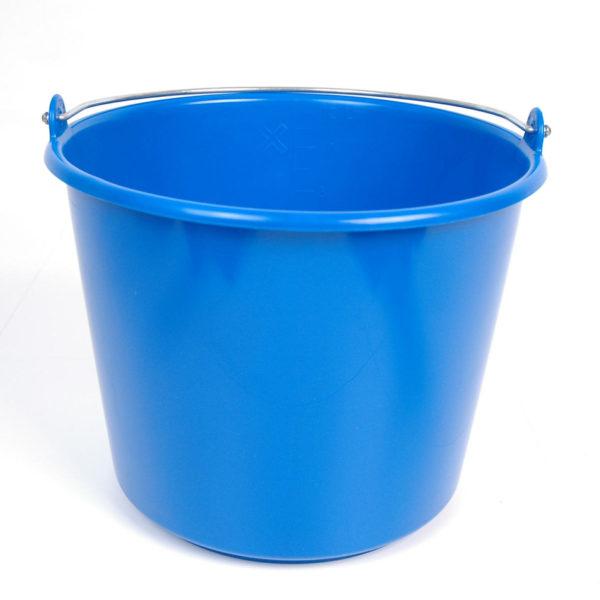 Emmer kunststof blauw 12ltr