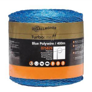 Gallagher TurboLine schrikdraad blauw 400mtr