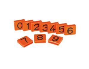 Kokernummer oranje