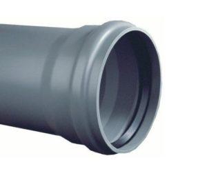 PVC buis SN4 met manchet | 110mm - 5 meter