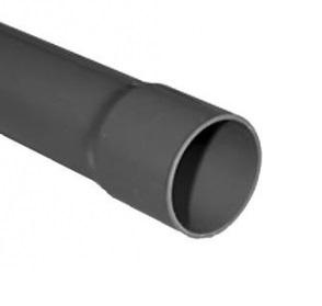 PVC landbouwbuis met lijmmof | 80mm - 5,55 meter