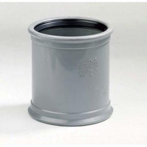 Overschuifmof 2x manchetmof - 110mm