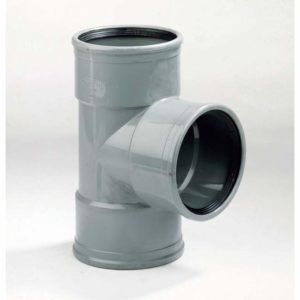 PVC T-stuk 90° 3x mof - 110mm