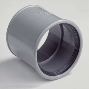 Steekmof 2x manchetmof - 110mm