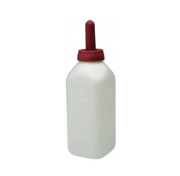 Kalverdrinkfles vierkant met speen 2ltr