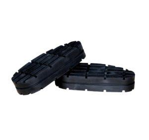 Klauwblokje rubber
