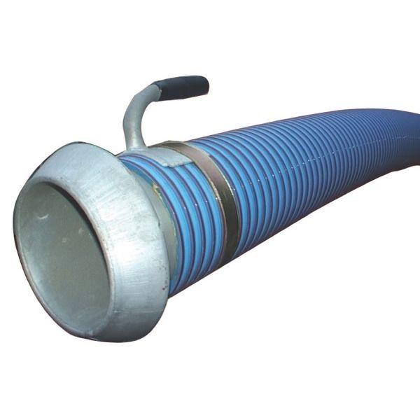 """Zuig- en persslang 6""""   KKV koppeling + zuigstuk - 5mtr"""