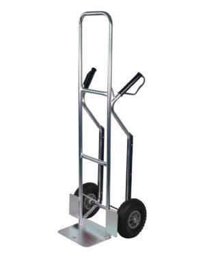 Steekwagen aluminium verhoogd - 200kg