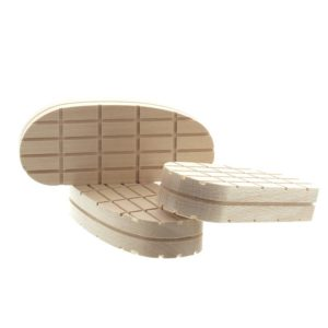 Klauwblokje hout XL - 13cm