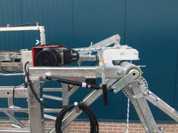 Elektrische klauwbekapbox GDS - dubbele fixeerbeugel